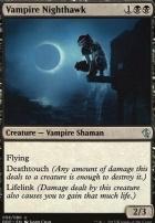 Duel Decks: Zendikar Vs. Eldrazi: Vampire Nighthawk