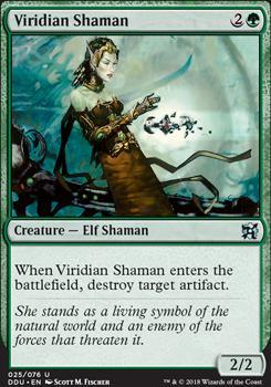Duel Decks: Elves Vs. Inventors: Viridian Shaman