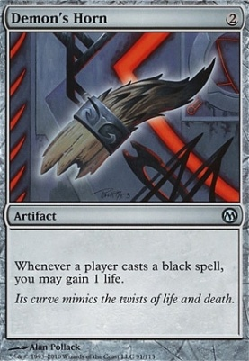 Duels of the Planeswalkers: Demon's Horn