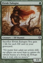 Duels of the Planeswalkers: Elvish Eulogist