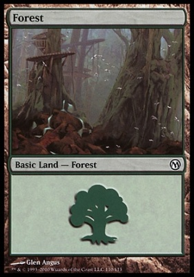 Duels of the Planeswalkers: Forest (110 A)