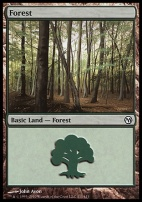 Duels of the Planeswalkers: Forest (111 B)