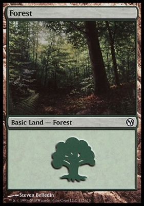 Duels of the Planeswalkers: Forest (112 C)
