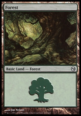 Duels of the Planeswalkers: Forest (113 D)