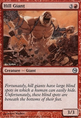 Duels of the Planeswalkers: Hill Giant