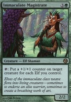 Duels of the Planeswalkers: Immaculate Magistrate (Foil)