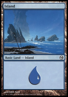 Duels of the Planeswalkers: Island (B 99)