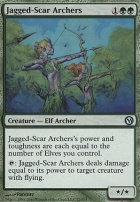 Duels of the Planeswalkers: Jagged-Scar Archers