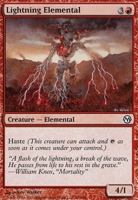 Duels of the Planeswalkers: Lightning Elemental