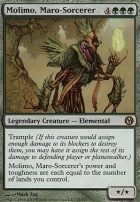 Duels of the Planeswalkers: Molimo, Maro-Sorcerer