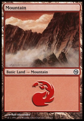 Duels of the Planeswalkers: Mountain (106 A)