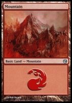 Duels of the Planeswalkers: Mountain (107 B)