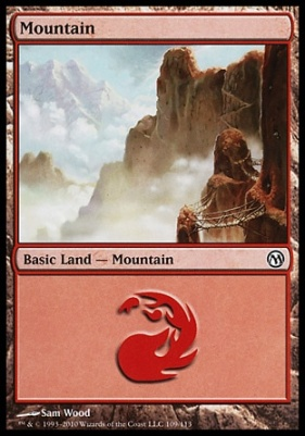 Duels of the Planeswalkers: Mountain (109 D)