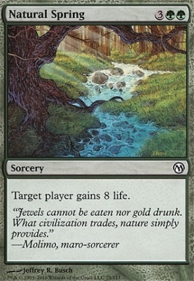 Duels of the Planeswalkers: Natural Spring