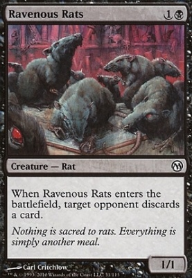 Duels of the Planeswalkers: Ravenous Rats