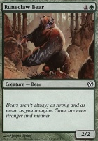 Duels of the Planeswalkers: Runeclaw Bear