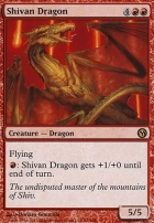 Duels of the Planeswalkers: Shivan Dragon