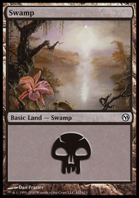 Duels of the Planeswalkers: Swamp (102 A)