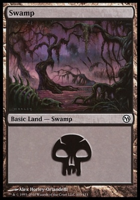 Duels of the Planeswalkers: Swamp (103 B)