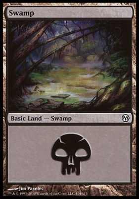 Duels of the Planeswalkers: Swamp (104 C)