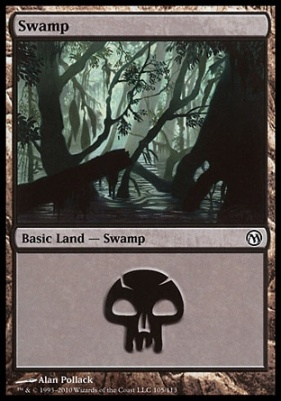 Duels of the Planeswalkers: Swamp (105 D)