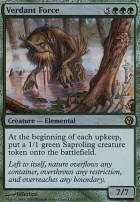 Duels of the Planeswalkers: Verdant Force (Foil)