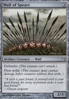 Duels of the Planeswalkers: Wall of Spears