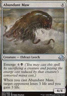 Eldritch Moon: Abundant Maw