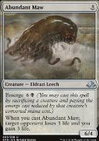 Eldritch Moon Foil: Abundant Maw