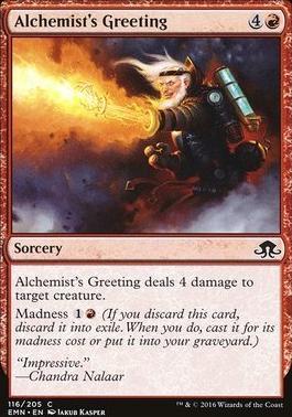 Eldritch Moon Foil: Alchemist's Greeting