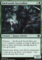 Eldritch Moon Foil: Backwoods Survivalists