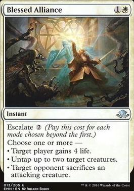 Eldritch Moon Foil: Blessed Alliance
