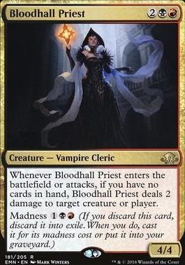 Eldritch Moon Foil: Bloodhall Priest
