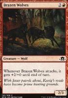 Eldritch Moon Foil: Brazen Wolves