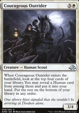 Eldritch Moon Foil: Courageous Outrider