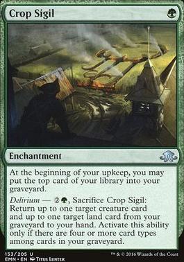 Eldritch Moon: Crop Sigil