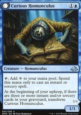 Eldritch Moon: Curious Homunculus