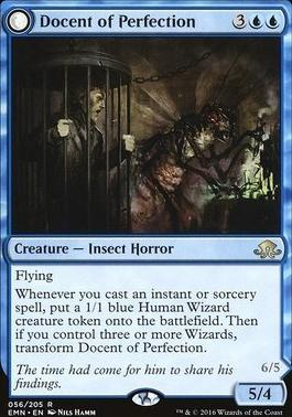 Eldritch Moon Foil: Docent of Perfection