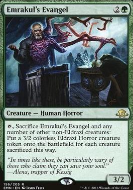 Eldritch Moon Foil: Emrakul's Evangel