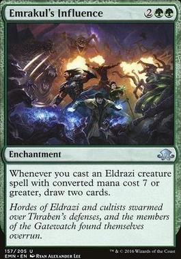 Eldritch Moon: Emrakul's Influence