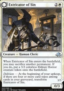 Eldritch Moon Foil: Extricator of Sin