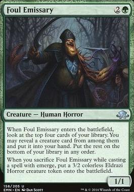 Eldritch Moon Foil: Foul Emissary