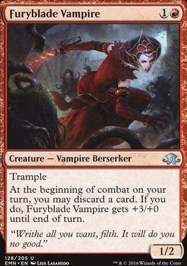 Eldritch Moon Foil: Furyblade Vampire