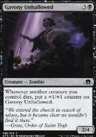 Eldritch Moon: Gavony Unhallowed