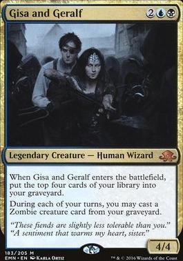 Eldritch Moon Foil: Gisa and Geralf