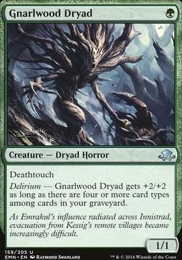 Eldritch Moon: Gnarlwood Dryad