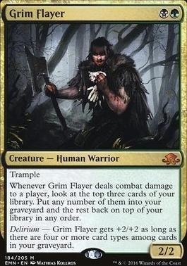 Eldritch Moon Foil: Grim Flayer