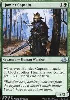 Eldritch Moon Foil: Hamlet Captain