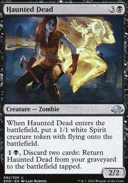 Eldritch Moon: Haunted Dead