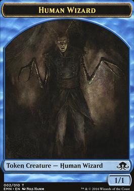 Eldritch Moon: Human Wizard Token